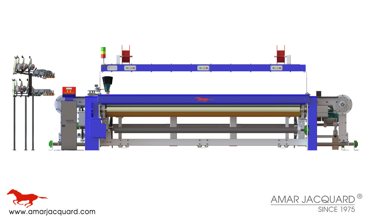 rapier loom machine manufacturers exporters in india punjab ludhiana